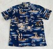 Pirates Of The Caribbean Silk Shirt For Men By Tommy Bahama Size Mediunew W/ Tag