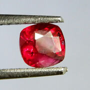 0.55 Ct Natural Lustrous Pigeon Red Ruby
