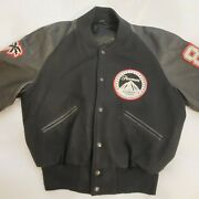 Paramount Studios Beverly Hills Cop 2 1987 Production Leather Bomber Jacket