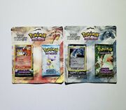 Pokemon 2x 2-pack Ex Booster Blisters - 4 Ex Packs Total - New And Sealed