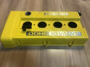 Fj20 Dr30 Yellow Crystal Painting Skyline Head Cover Cam Tappet Engine No