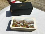 Vintage Antique Lot 94 Europe Italy Greece Stereo View Stereograph Cards