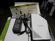 Warpia Dock N' Charge New In Box With Cables And Power Supply Missing Driver Disk