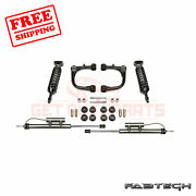 Fabtech 3 Uniball Uca Sys W/ Front Coilovers And Rear Shocks For Toyota Fj 06-09
