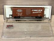N Scale Atlas 40' Box Car Pandle 34493 Pittsburgh And Lake Erie Nyc New York Central