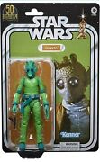 Star Wars Greedo 6 The Black Series Lucasfilm 50th Anniversary Exclusive