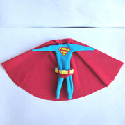 Dc 1/12 Superman Tights Clothes Clothing Outfit Set Mez. 6'' Model Accessory