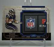 2014 Topps Museum Collection Laundry Tag Relics Tre Mason 1/1 One Of One Ltr-tm