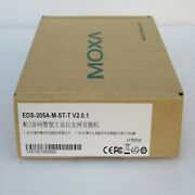 1pc New Moxa Industrial Ethernet Switch Eds-205a-m-st-t Fast Shipxr