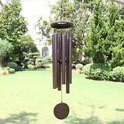 Wind Chimes Outdoor Deep Tone, 45 In Memorial Wind Chimes Large 45 Bronze