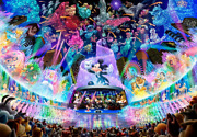 Tenyo Disney Water Dream Concert 1000 Piece Jigsaw Puzzle, From Japan