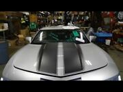 Hood Bonnet Silver With Black Stripes Without Hood Scoop Fit 10-15 Camaro 713808