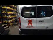 Driver Left Rear Back Door White Low Roof With Window White Fits 15-19 Transit