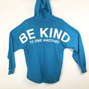 The Ellen Degeneres Show Be Kind To One Another Hooded Spirit Sweater Rare M
