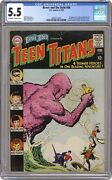 Brave And The Bold 60 Cgc 5.5 1965 2070472024 2nd App. Teen Titans