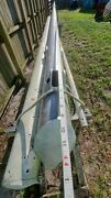 43and039 Sailboat Mast With Spreaders Boom Never Used Standing Rigging Steps Sail