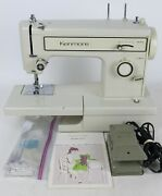 Vintage Sears Kenmore Model 158.12110 Domestic Sewing Machine W/ Manual - Tested
