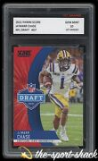 🌟2021 Ja'marr Chase Panini Score Nfl Draft 1st Graded 10 Bengals Rookie Rc Card