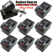 1x-10x For Snap On Ctb8185 Battery 18v 4ah Ctb8187 Ctb7185 Ct8850 Ctc720 Charger
