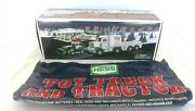2013 Hess Gasoline Toy Truck And Tractor W/ Original Bag New Nrfb