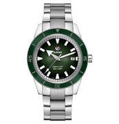Rado Captain Cook Automatic 42mm Green Dial Stainless Steel Menand039s Watch R3210531