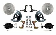 Leed Brakes Bfc1006n6b4x Front Disc Brake Kit W/stock Height Spindles Gm Chevy I
