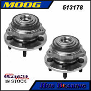 2 Moog Front Wheel Bearing Hub Assembly For 2002-2005 Jeep Liberty Pair W/o Abs