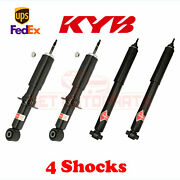 Kit 4 Kyb Gas-a-just Strut And Shocks Set Frontandrear For 2003-11 Lincoln Town Car