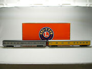 Lionel Penn-union Pacific Passenger Car 2 Pack O Gauge Rolling Stock 2027500 New