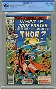 What If 10 Cbcs 9.8 1978 Jane Foster As Thor