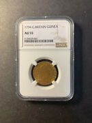 Great Britain George Iii Gold Guinea 1794 About Uncirculated Ngc Au55