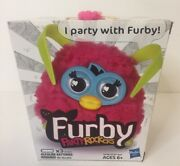 New In Box - Furby Party Rockers -- Pink Furby - By Hasbro - Free Shipping