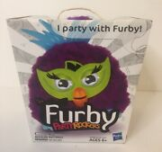 New In Box - Furby Party Rockers - Purple - By Hasbro- Free Shipping