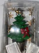New Christmas Tree With Bling Metal Wine Bottle Stoppers Super Cute Gift
