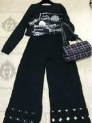 Sale Collection Black Pants Tryon Only From Japan Fedex No.5676
