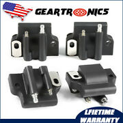 4x Ignition Coil For Johnson Evinrude 582508 18-5179 183-2508 Outboard Engine Us