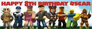 2no. Roblox Personal Birthday Banners