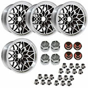 Year One Bsf179kr Cast Aluminum Snowflake Wheel Kit 4 17 X 9 With 5-1/8 Backsp