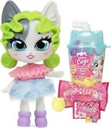 Kitten Catfe Series 3 Boba Cup Purrista Girls Pack [random Color Pack]