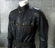 Belstaff Founders Fc 1924 Champion Roadmaster Jacket It 48 22 P2p Rrp Andpound815