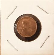 1917 Abraham Lincoln Wheat Copper Penny With No Mint Mark Extremely Rare