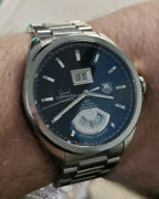 Tag Heuer Grand Carrera Gmt Wav5111 Caliber 8 Rs Gmt Automatic Menand039s Watch