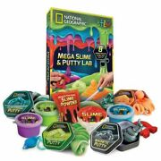 National Geographic Mega Slime Kit And Putty Lab - 4 Types Of Amazing Slime For And