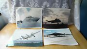 4 Military Aircraft Aviation 8 X 10 Real Photos-airplanes Helicopter