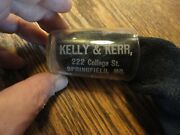 Rare Kelly And Kerr Springfield Mo. Pre-prohibition Shot Glass W/measurements