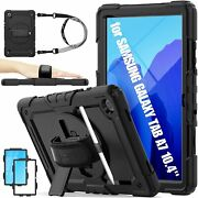 Case For Samsung Galaxy Tab A7 10 4 2020 3 Layer Drop Protection Case With 360