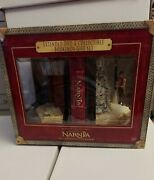 The Chronicles Of Narnia Extended Dvd And Bookends Gift Set Opened Box