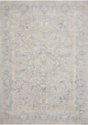 Loloi Traditional 9and039-6 X 12and039-5 Area Rugs In Stone And Gold Pandpan-01sngo96c5