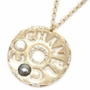 Up To 000 Yen Draw Cp Necklace Ab1585 Pendant Round Coco Punching Plate