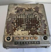 Rare Radio Gaz 12 Model A5 Radio Receiver For Zil-110 Zim Not Working For Parts